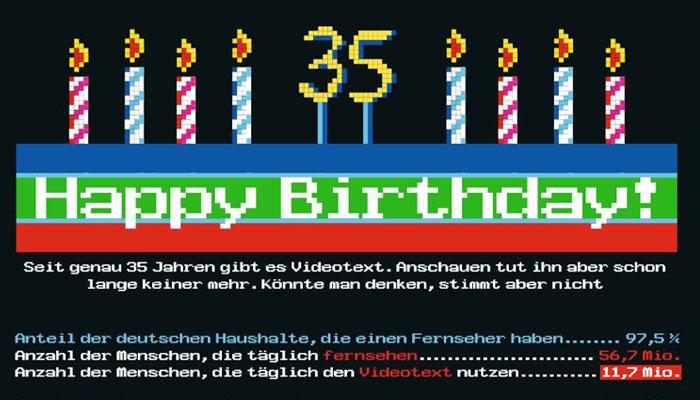 35 Years Teletext!