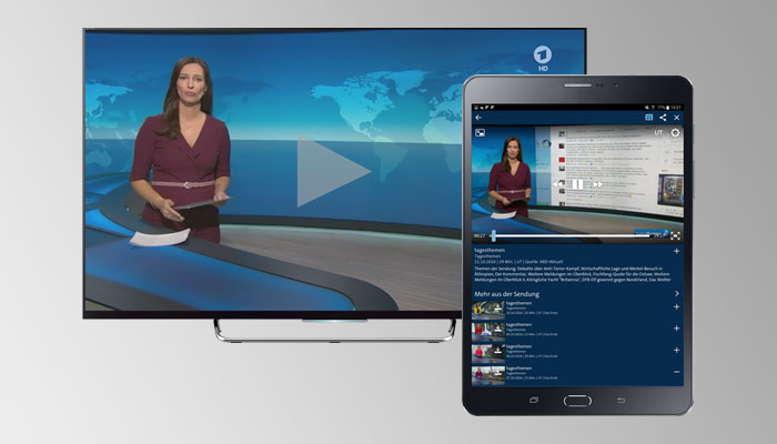 HbbTV 2.0 Companion Screen feature is now supported by Inaris HbbTV Solution