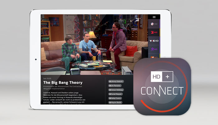 HD+ Connect App for Playback of Encrypted Content on Mobile Devices