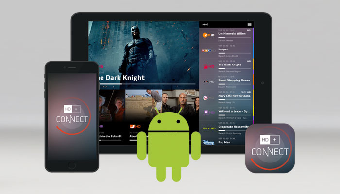 HD+ Connect App is now available for Android