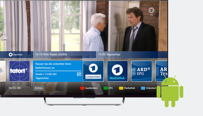 Showcasing HbbTV on Android TV with Chromium