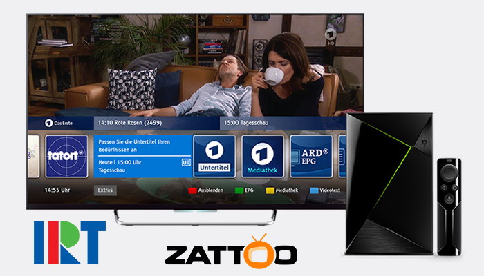 HbbTV on Zattoo OTT Services