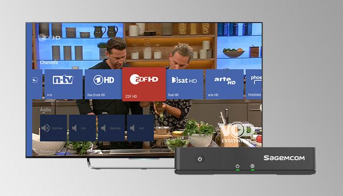 LiveOn TV running on Sagemcom STBs