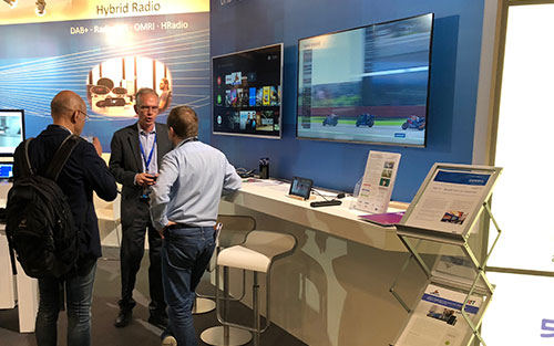 HbbTV for OTT services shown at IBC 2018