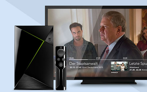 Inaris on Nvidia Shield TV enables Live TV