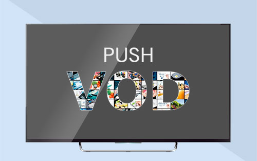 PushVoD feature integrated in Inaris