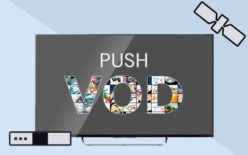 PushVoD Content Reception