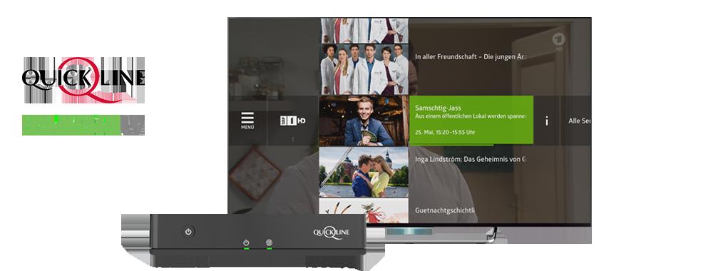 quickline tv screenshot stb