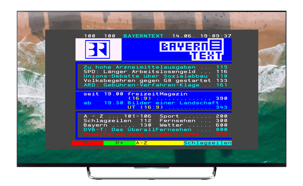 teletext for linux and other os