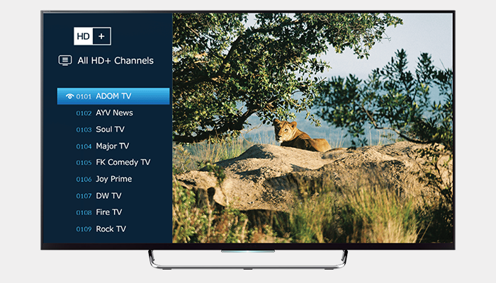 HD Television for Ghana