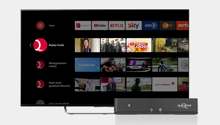Replay Guide on the Android TV Launcher