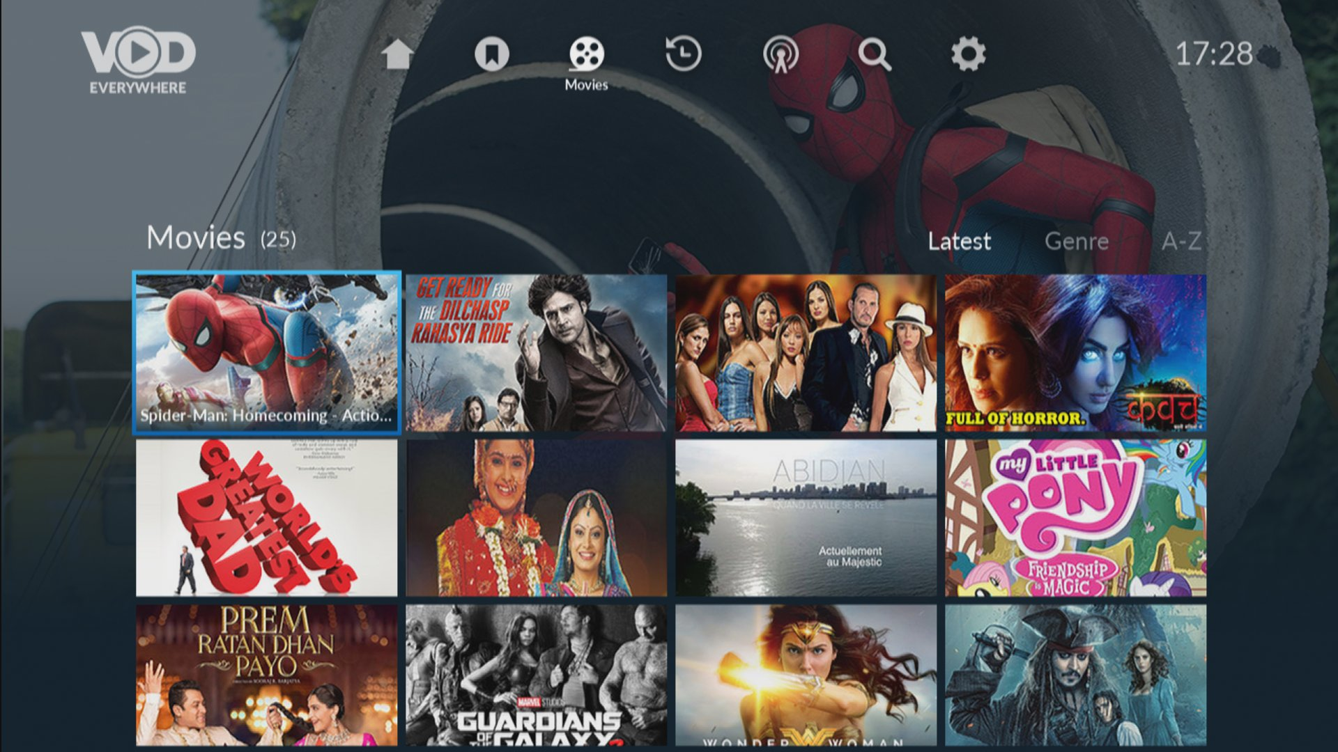VOD Everywhere - Grid EPG
